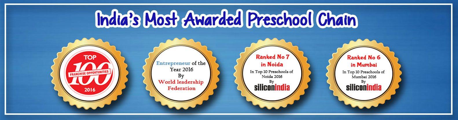India's Most Awarded Preschool Chain